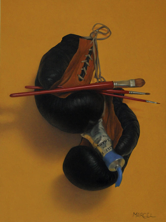 Still Life Painting - Pain-ting by Marcel Franquelin