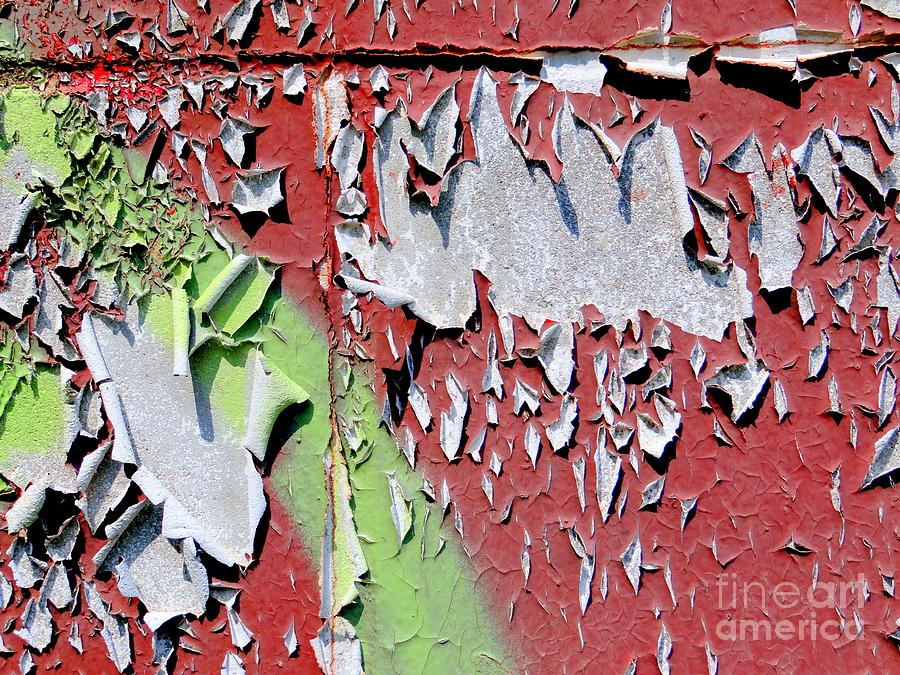 Abstract Photograph - Paint Abstract by Ed Weidman