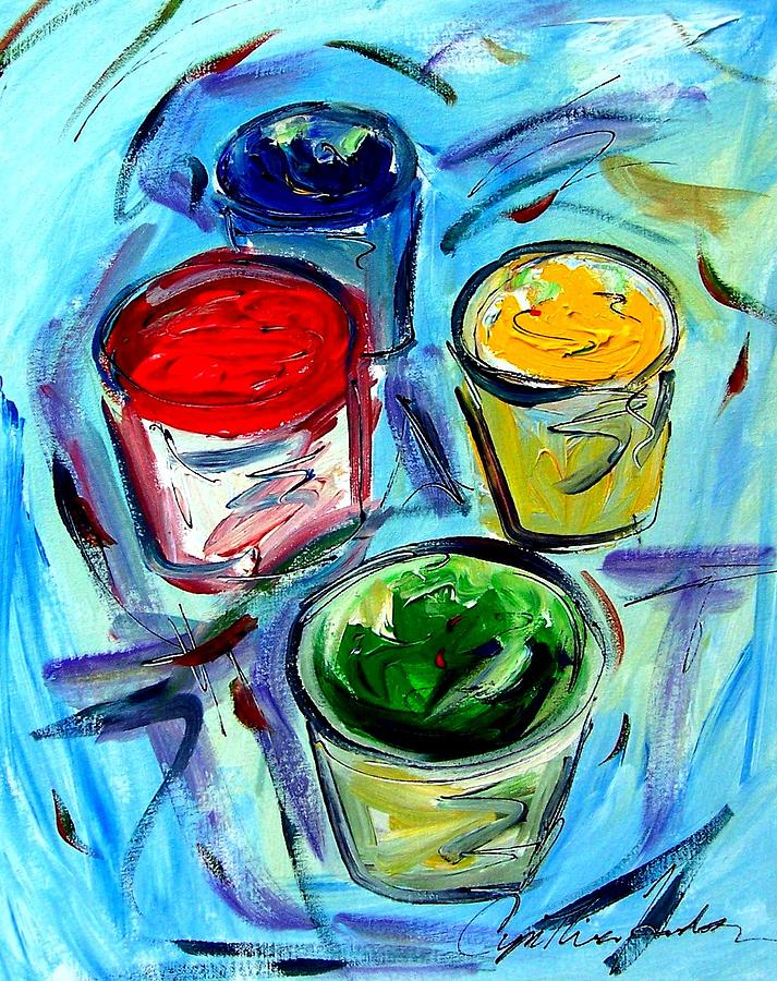 Paint Painting - Paint by Cynthia Hudson