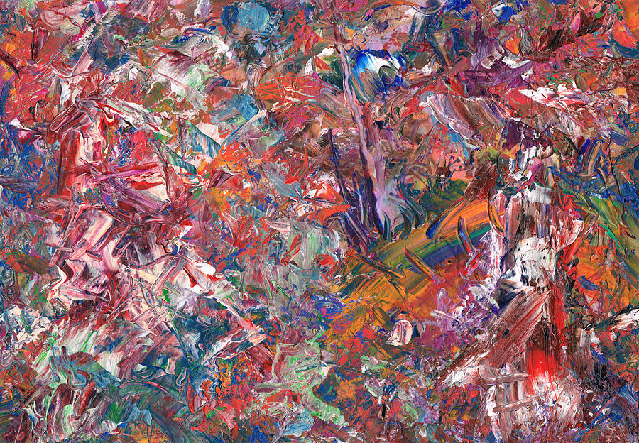 Abstract Painting - Paint Number 50 by James W Johnson
