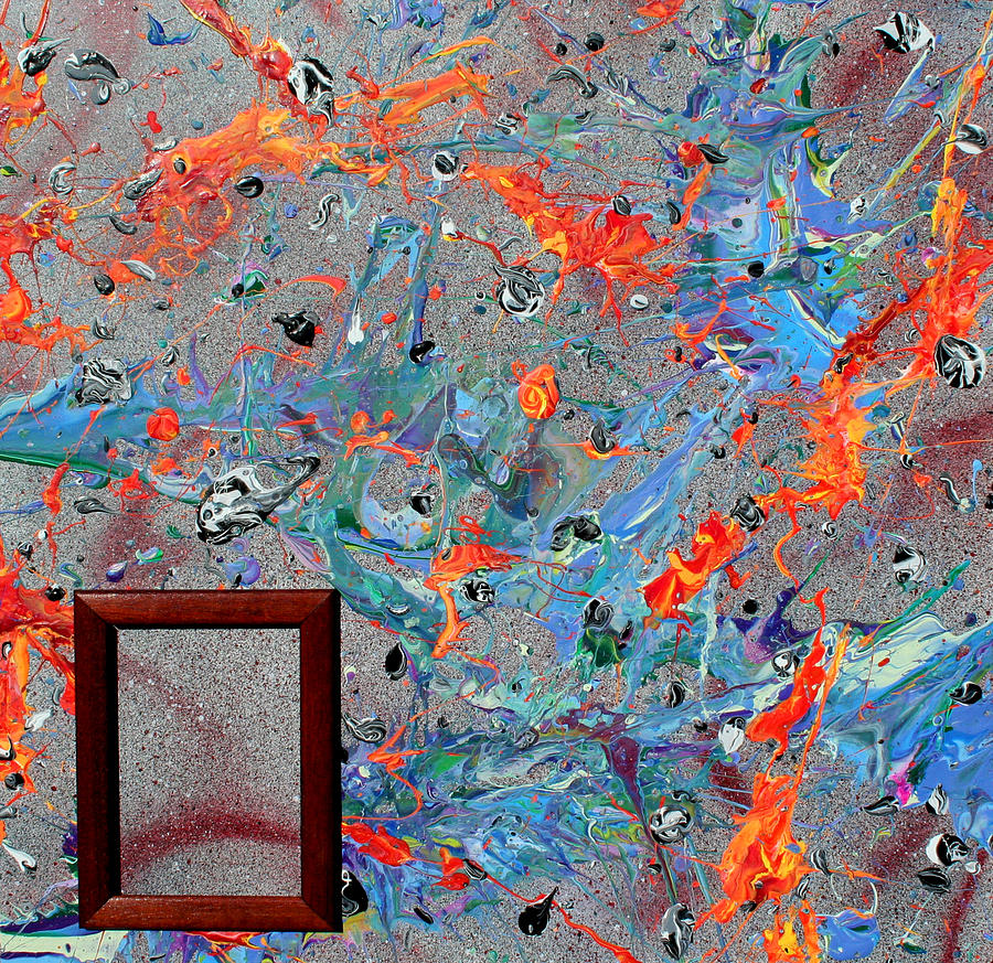 Acrylic Painting - Paint Number Forty by Ric Bascobert