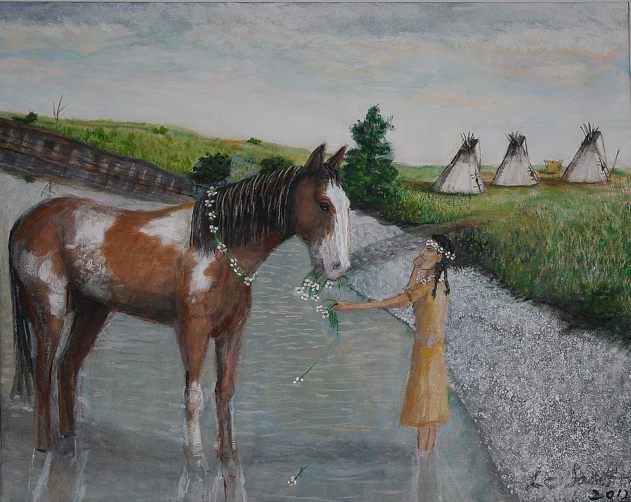 Paint Pony Original For Sale Painting