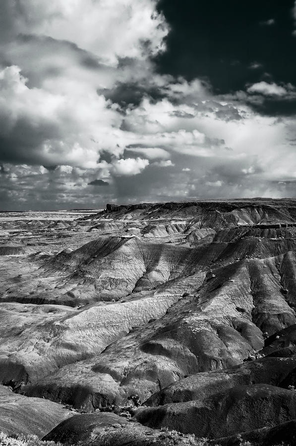 Arizona Photograph - Painted Desert From Lacey Point by Jerry Ginsberg