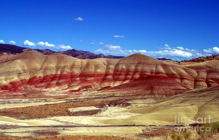 Painted Hills Photograph - Painted Hills by Chalet Roome-Rigdon