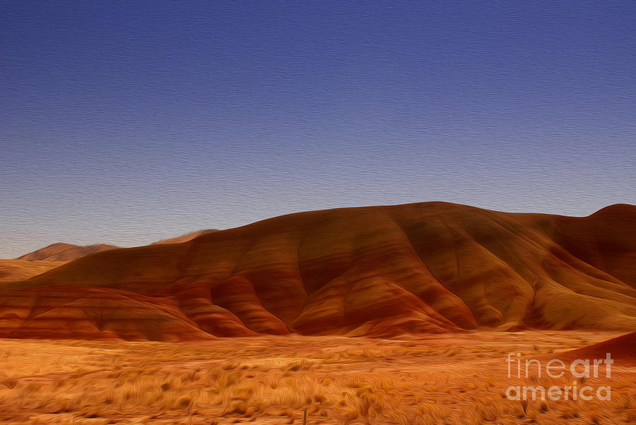 Oregon Photograph - Painted Hills by Nur Roy