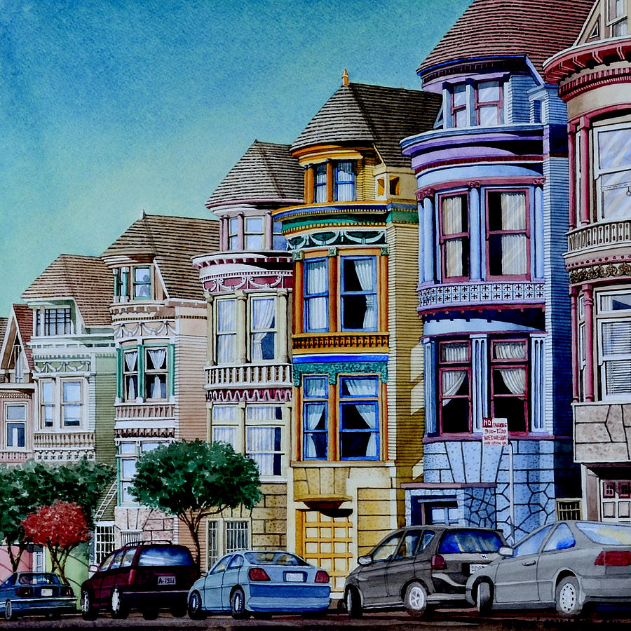Painted Houses San Francisco