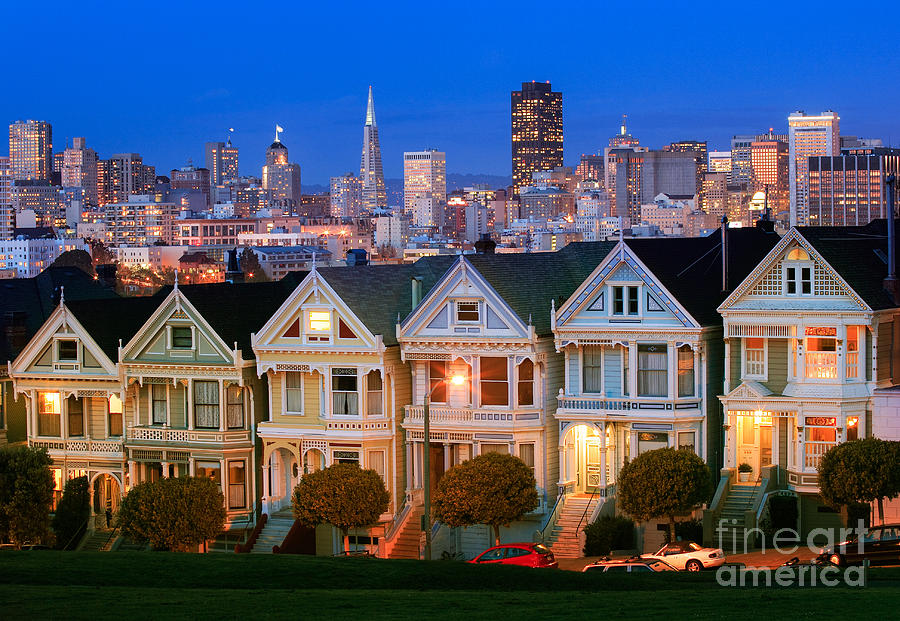 America Photograph - Painted Ladies by Inge Johnsson