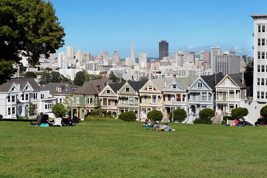 San Francisco Photograph - Painted Ladies by Jo Ann Snover