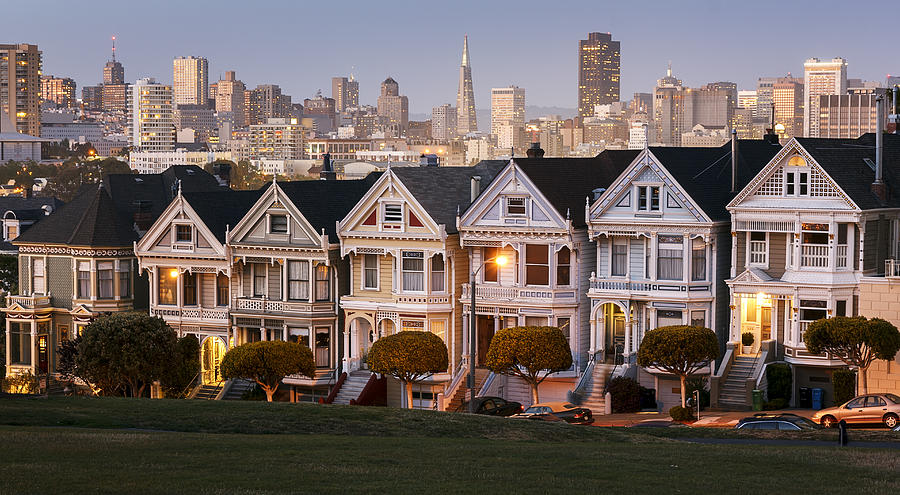 San Francisco Photograph - Painted Ladies by Maico Presente