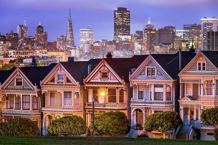Painted Ladies, San Francisco Photograph by Joe Daniel Price