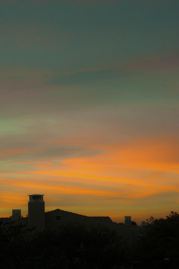 City Sunset Photograph - Painted Skies Over My City by Ben and Raisa Gertsberg