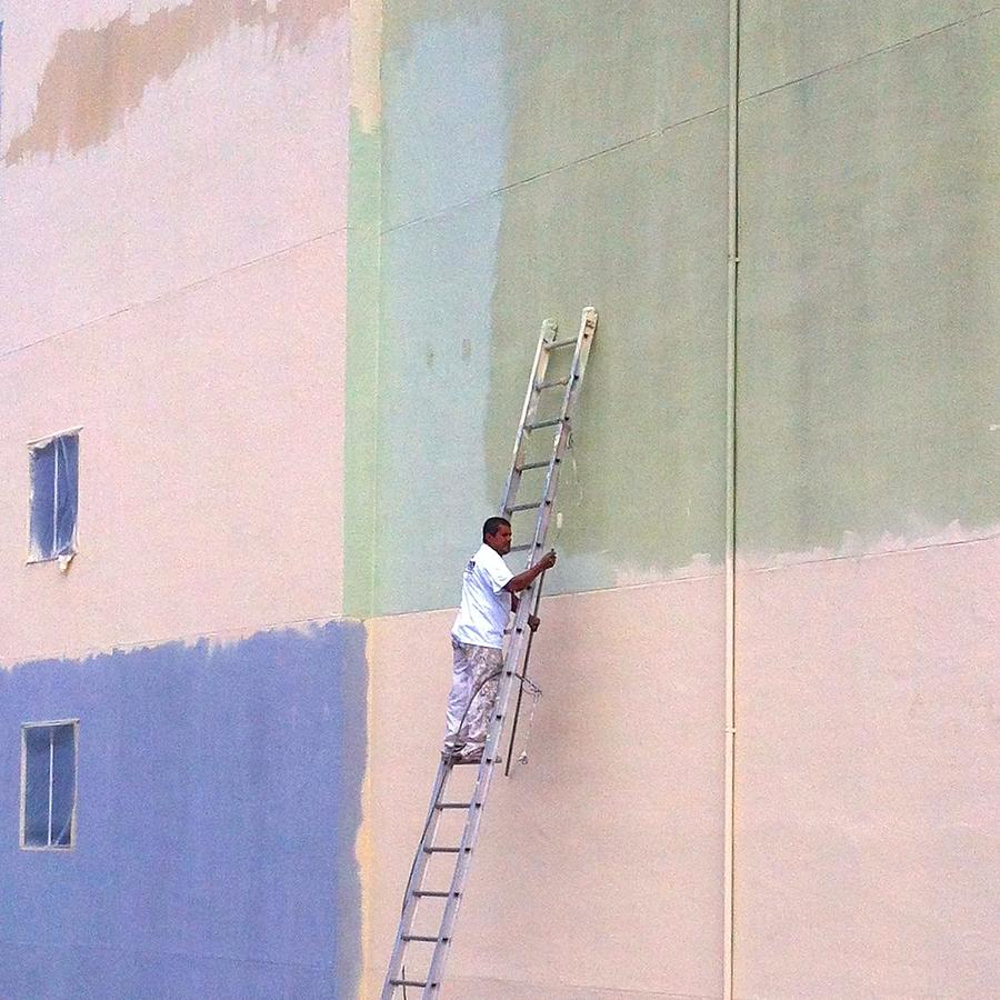 Painter Photograph by Julie Gebhardt
