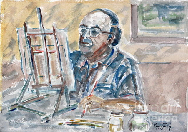 All Painting - Painting In Focus by Phong Trinh