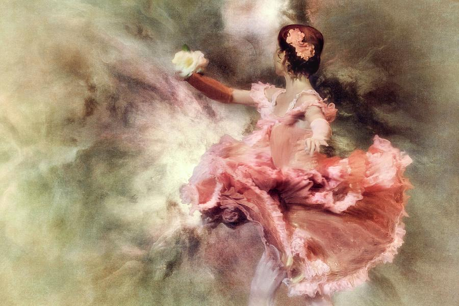 Motion Photograph - Painting My Sleep With A Colour So Bright... by Charlaine Gerber
