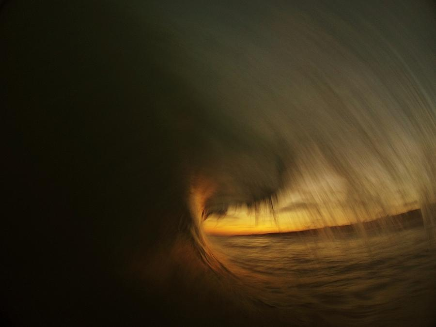The Wedge Photograph - Painting With Light by Daniel Rainey