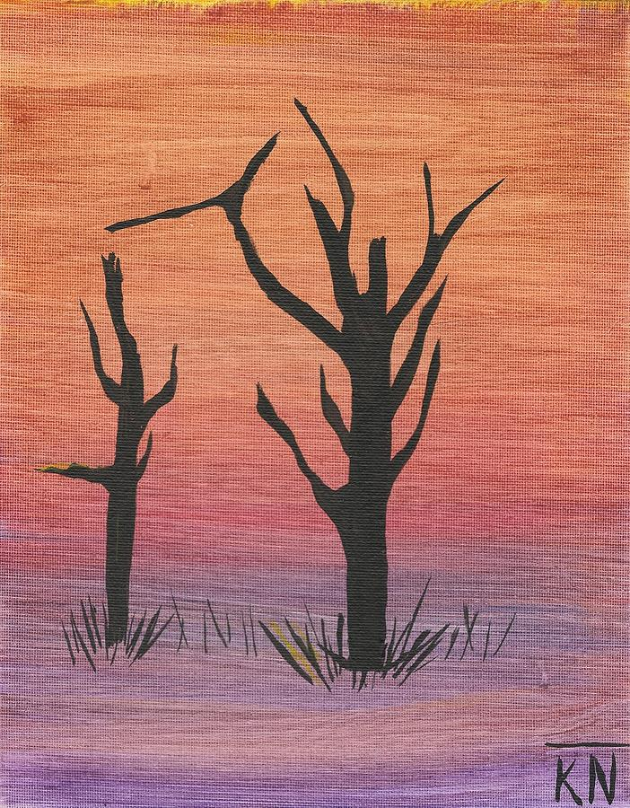 Old Trees Painting - Painting4 by Keith Nichols
