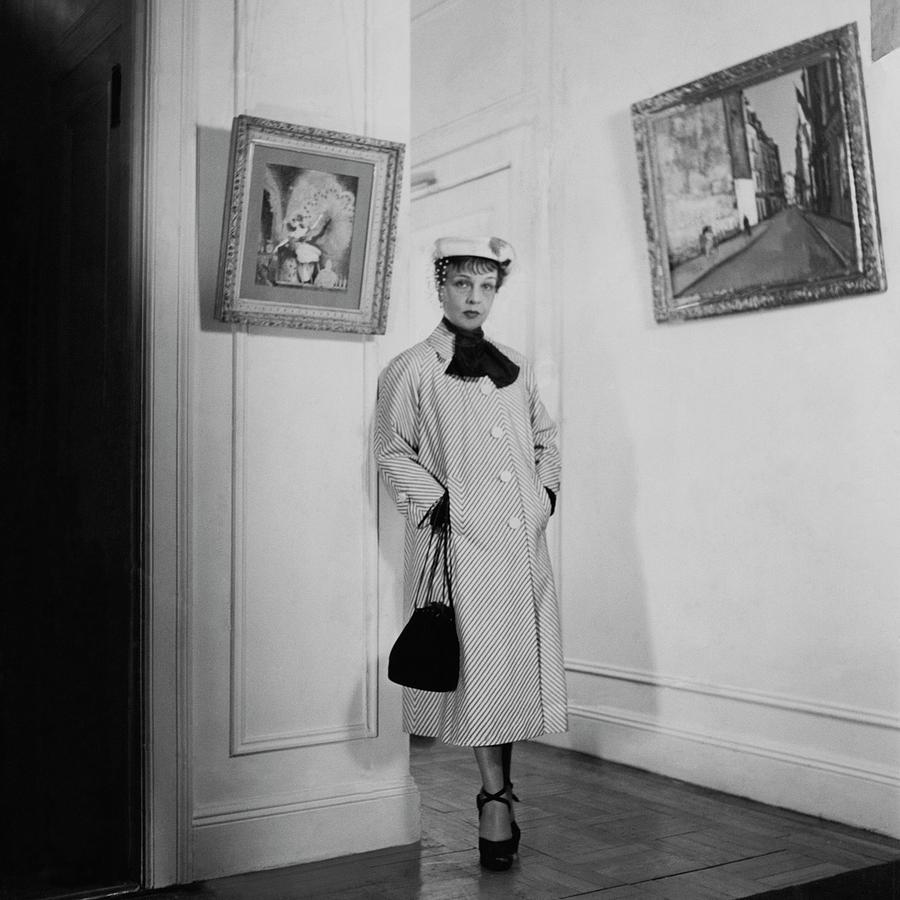 Paintings By Anita Loos Photograph by Cecil Beaton