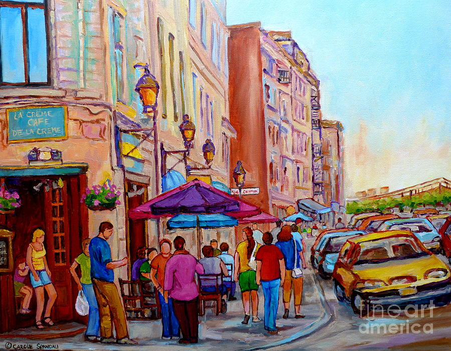 Montreal Oil Painting Streets