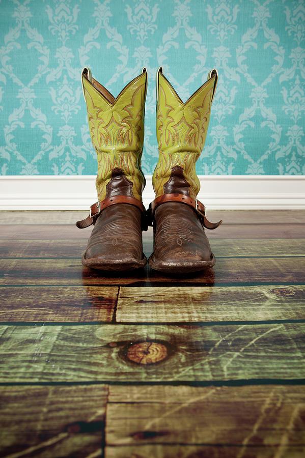 Pair Of Cowboy Boots Photograph by Jorgegonzalez