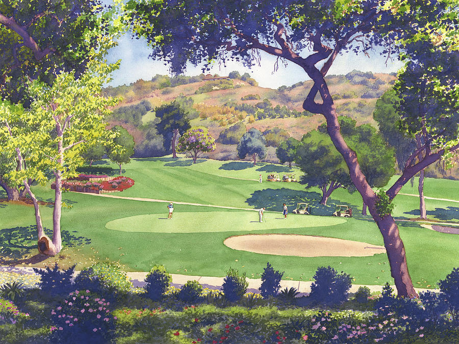 Golf Art Fine Art America