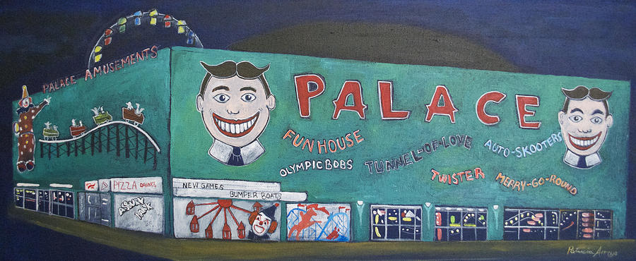 Tillie Painting - Palace 2013 by Patricia Arroyo