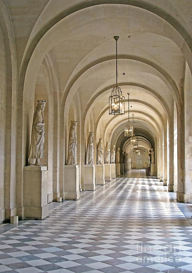 Palace Corridor Photograph By Ann Horn