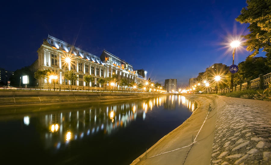 Beautiful Photograph - Palace In Bucharest by Ioan Panaite