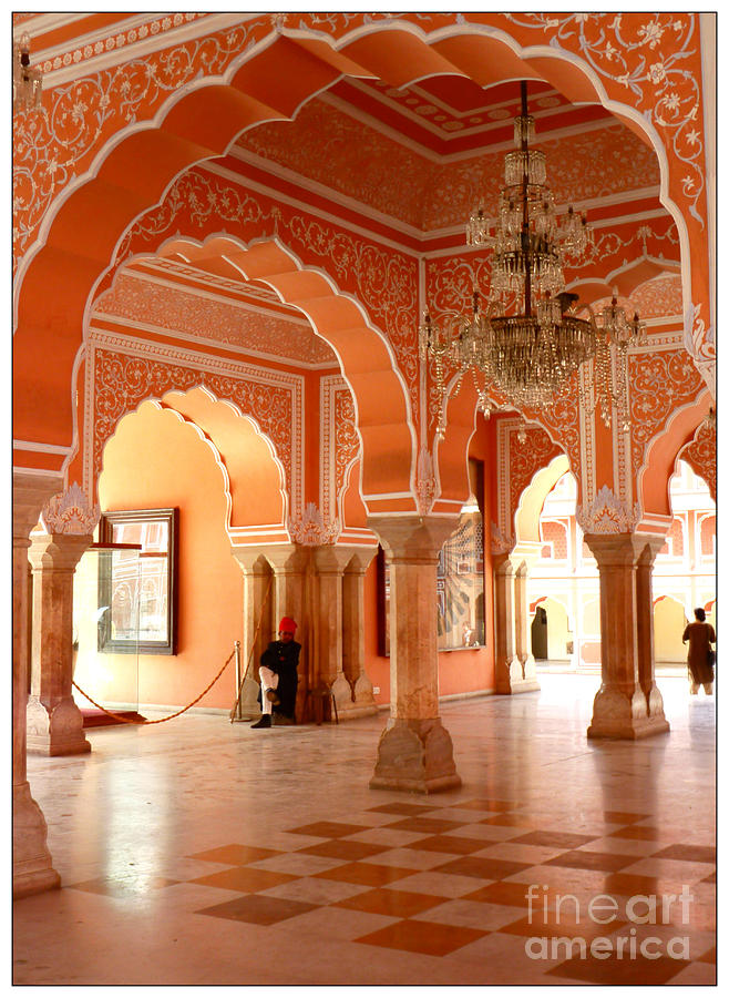 Palace Photograph - Palace In Jaipur by Sophie Vigneault