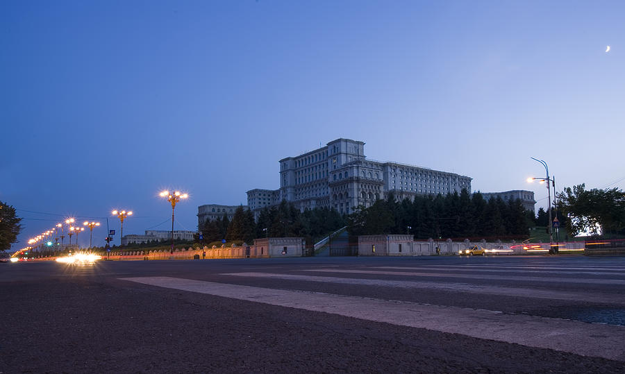 Administration Photograph - Palace Of The Parliament  by Ioan Panaite