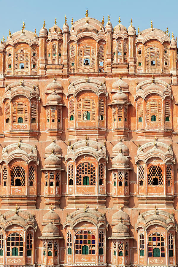 Palace Of The Winds Hawa Mahal, Jaipur Photograph by Peter Adams