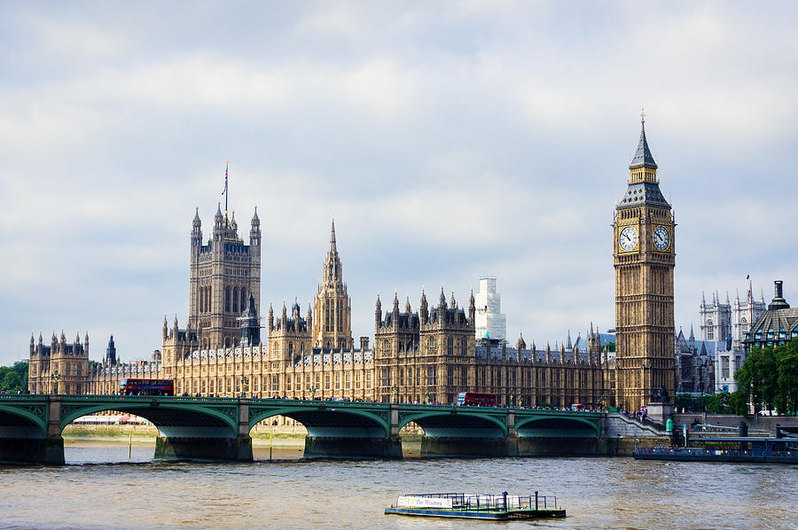 London Photograph - Palace Of Westminster by Trevor Wintle