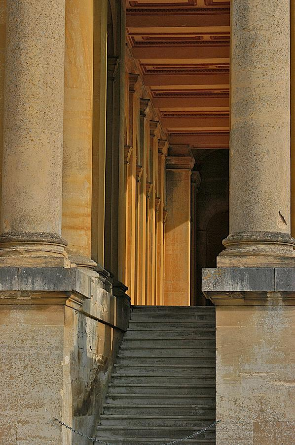Blenheim Palace Photograph - Palace Step by Joseph Yarbrough