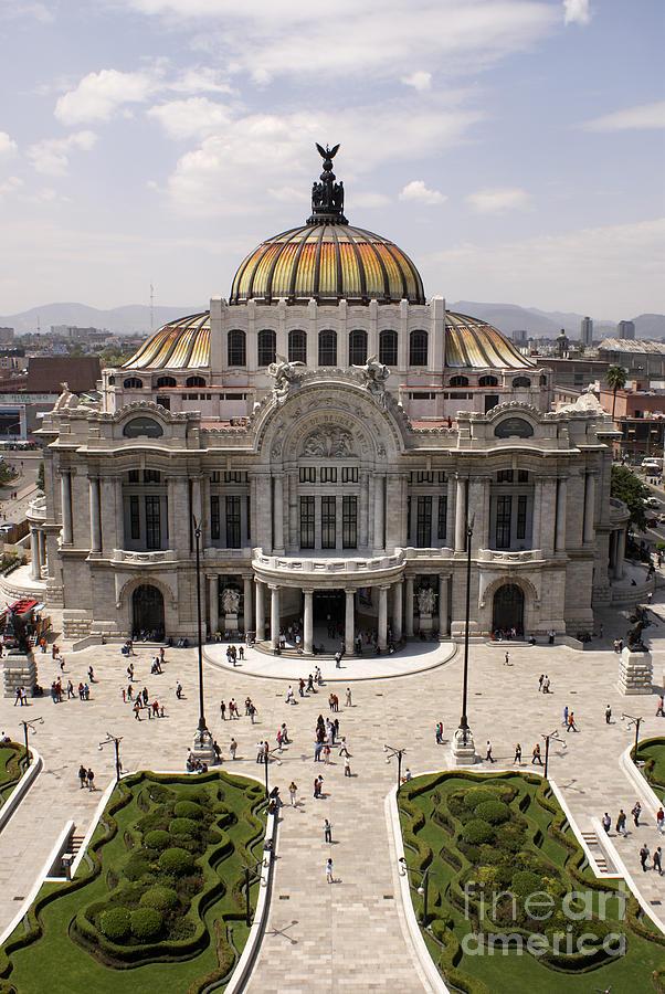Palacio De Bellas Artes Mexico City Photograph By John