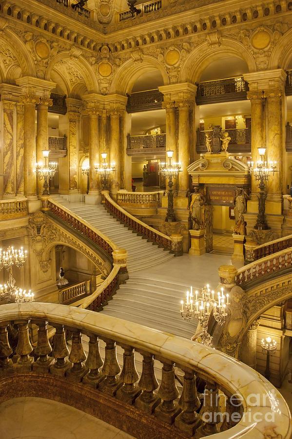 Palais garnier interior photograph by brian jannsen for Architecture interieur paris