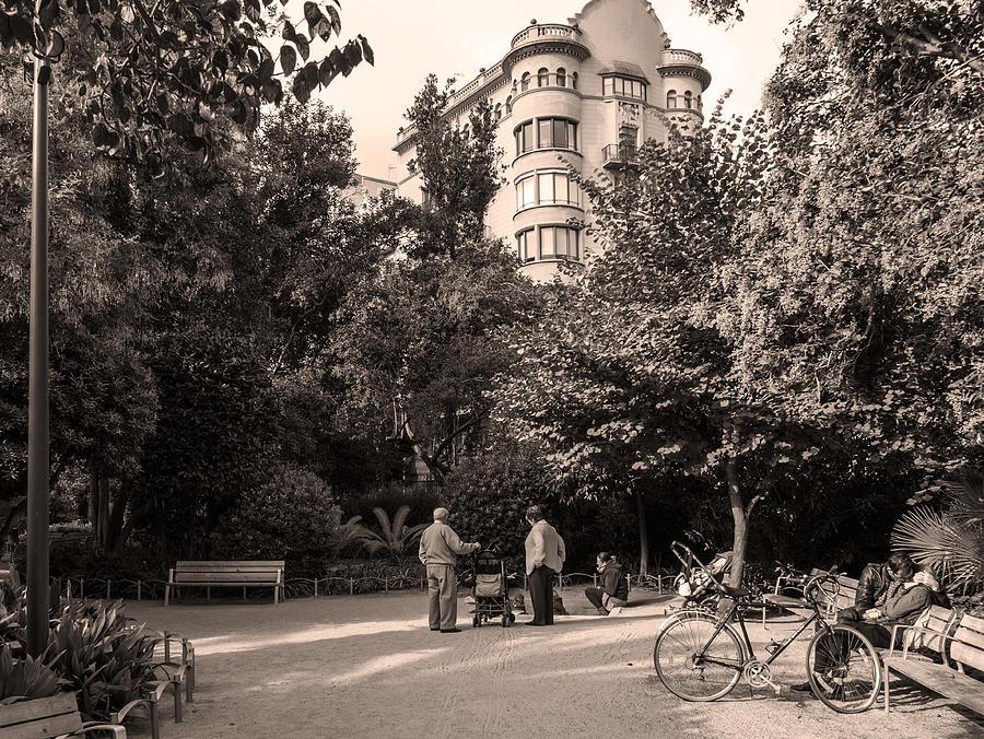 Palau Robert Garden, Barcelona by Stefano Buonamici