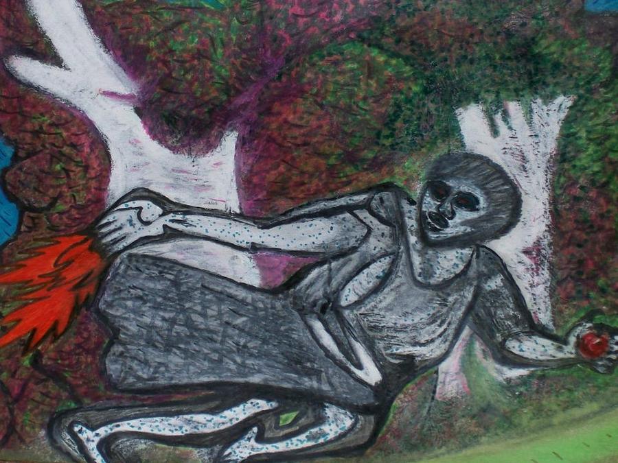 Trending Drawing - Paleolithic Era Man by Jonathon Hansen