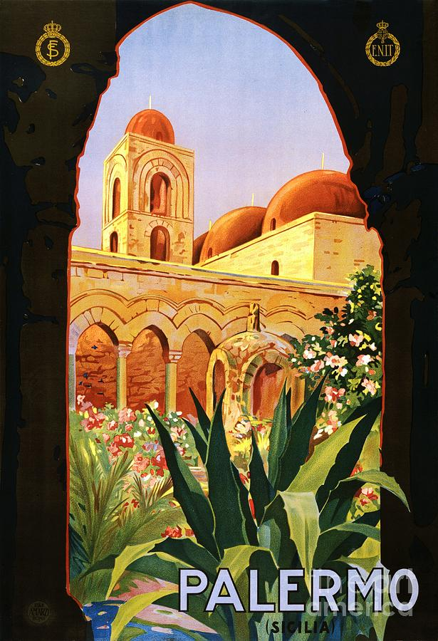 Pd Painting - Palermo by Pg Reproductions