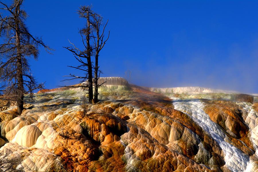 Landscape Photograph - Palette Spring Steam by Brian Harig