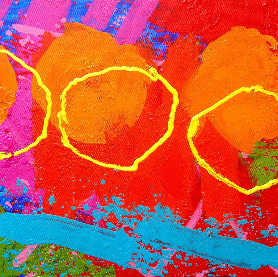 Abstract Painting - Palimpsest 004 by John  Nolan