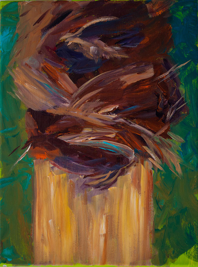 Interior Design Painting - Palm Bark by Paulette B Wright
