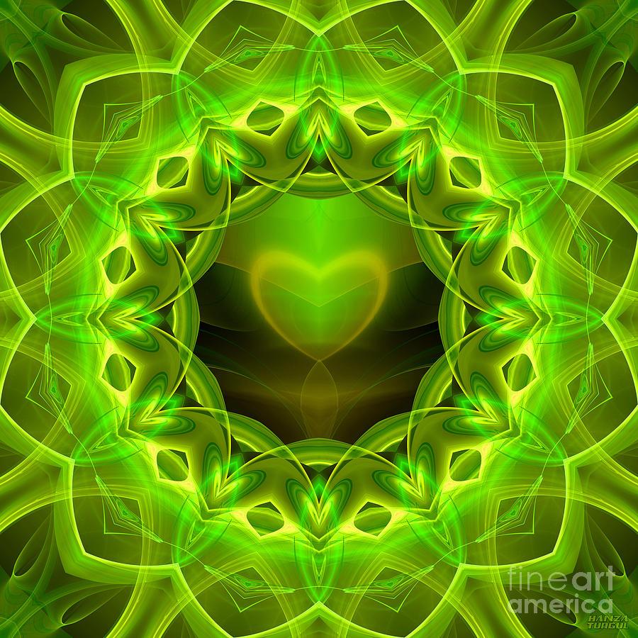 Hanza Turgul Digital Art - Palm Love Gift by Hanza Turgul