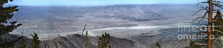 Palm Springs Photograph - Palm Springs Panoramic View - 02 by Gregory Dyer