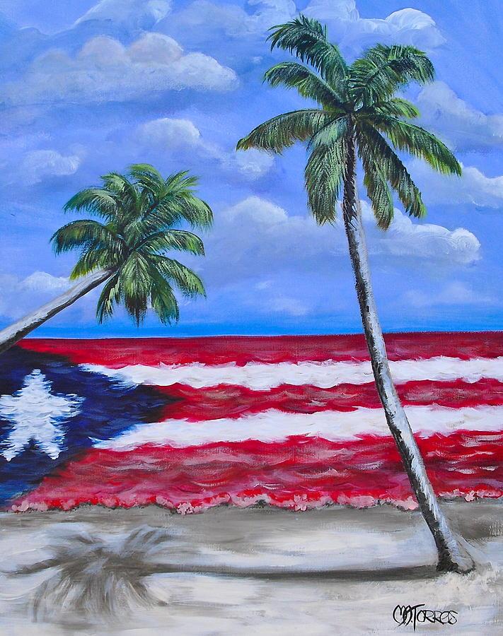 Palmas de puerto rico painting by melissa torres - Tv chat las palmas ...