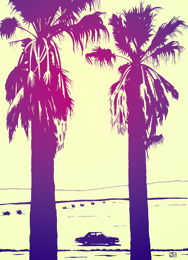 Los Angeles Photograph - Palms by Giuseppe Cristiano