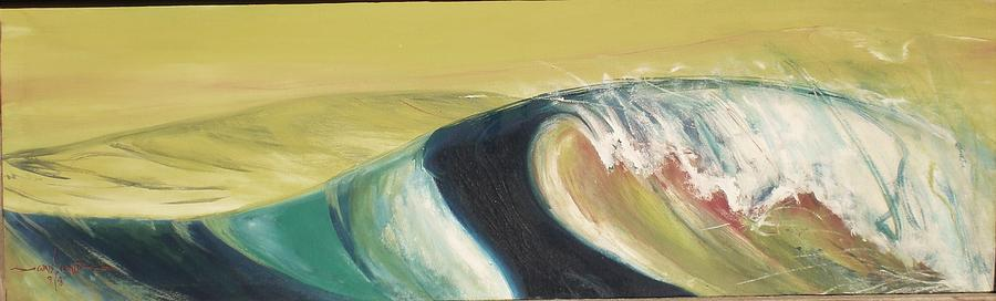 Wave Painting - Palo Alto by Chris Cloud