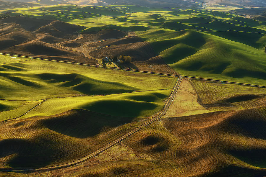 Palouse Photograph - Palouse Homestead by Ryan Manuel