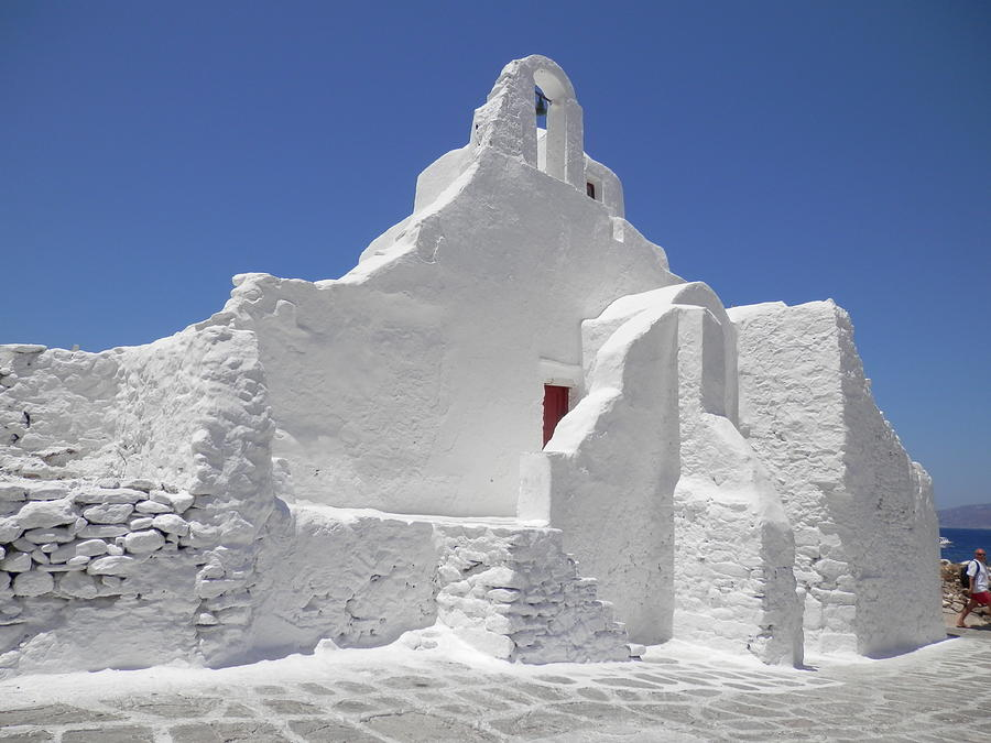 Panagia Paraportiani Church Of Mykonos Photograph by Pema Hou