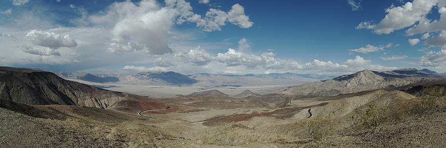 Panamint Valley Photograph - Panamint Valley by Mike Herdering