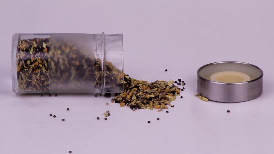 Brassica Juncea Photograph - Panch phoron by SAURAVphoto Online Store