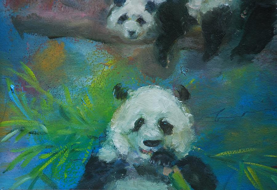 Panda Picnic by Ann Bailey